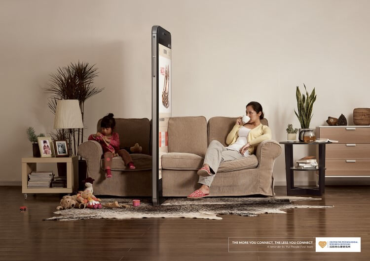 Phone Wall Campaign, para recapacitar conectarnos con la vida