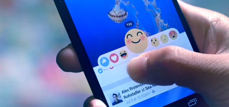 Aprende a cambiar las reacciones de Facebook