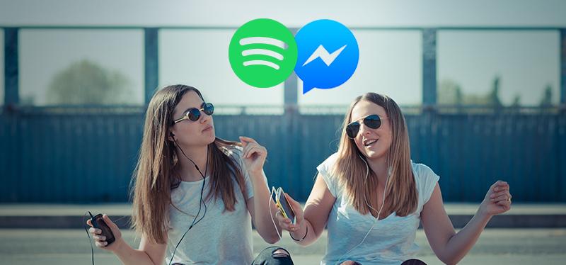 Compartir música de Spotify ahora es más fácil en Facebook Messenger